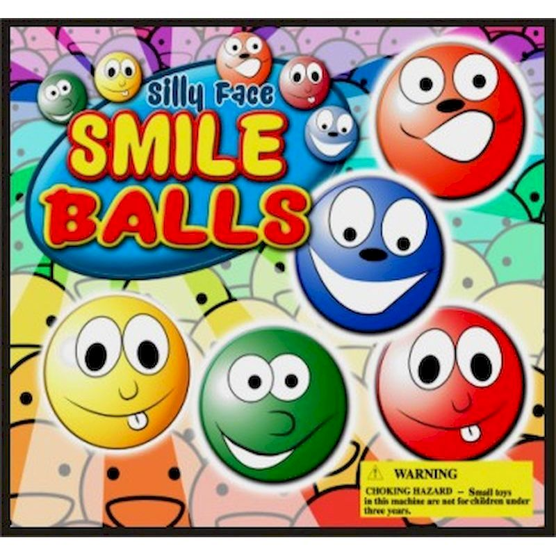 30-SFBLC2 - Silly Faces Smile Foam Balls (250 ct.)