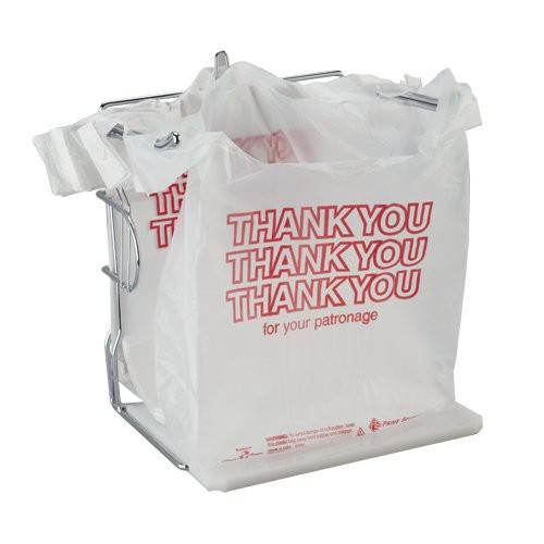 T-Sack - Thank You Bag 12 mic 11.5x6.5x21 1/6 Barrel (1,000 ct)