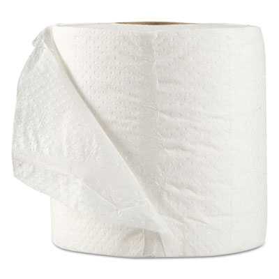 GEN Standard Bath Tissue, Septic Safe, 1-Ply, White, 1,000 Sheets/Roll, 96 Wrapped Rolls/Carton