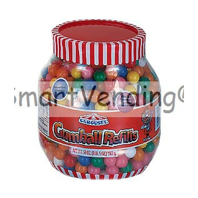 6253 - Gumballs Refill Jar53oz Resealable Tub
