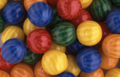 7208 - Beach Ball 1'' Gumballs (850 ct.)