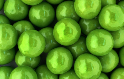Green Apple 1'' Gumballs (850 ct.)