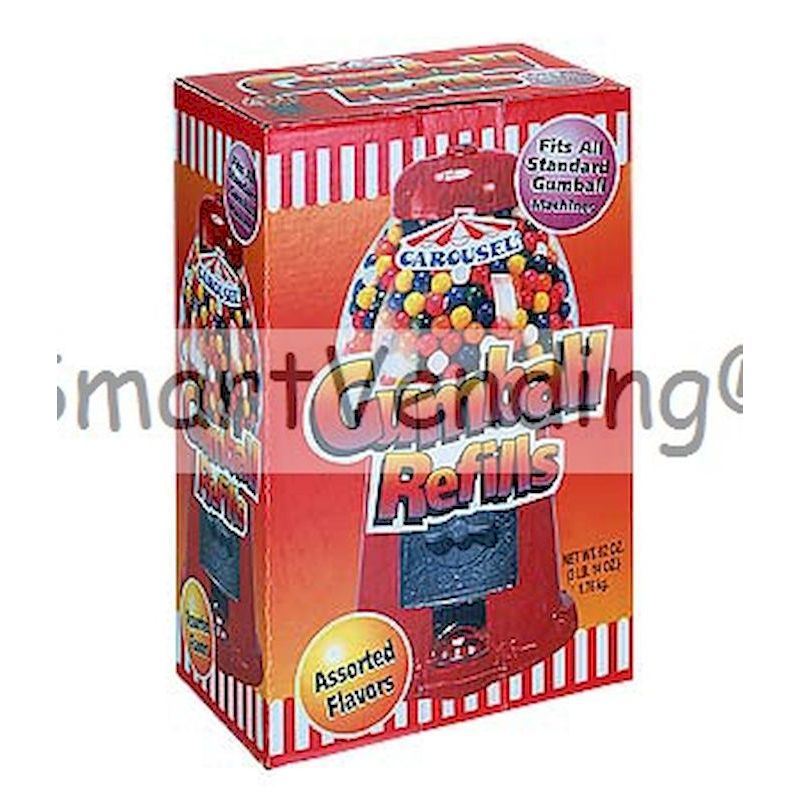 6262 - Gumballs Refill62 oz Novelty Carton