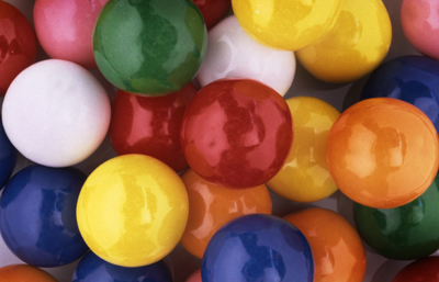 Dubble Bubble Assorted .925 inch Gumballs (1,080 ct.)