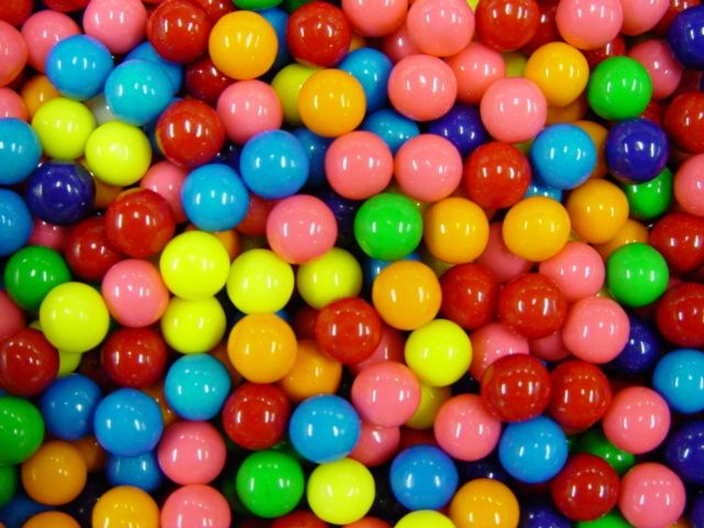 Assorted .56'' Gumballs (5,800 ct.)