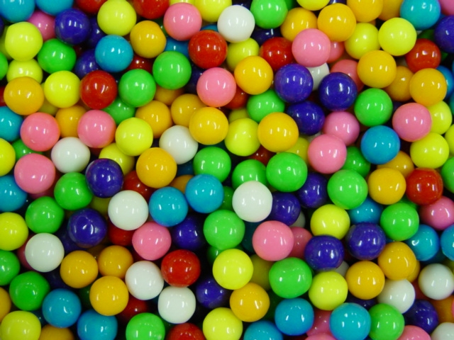 Assorted 1/2 inch Gumballs (8,500 ct.)