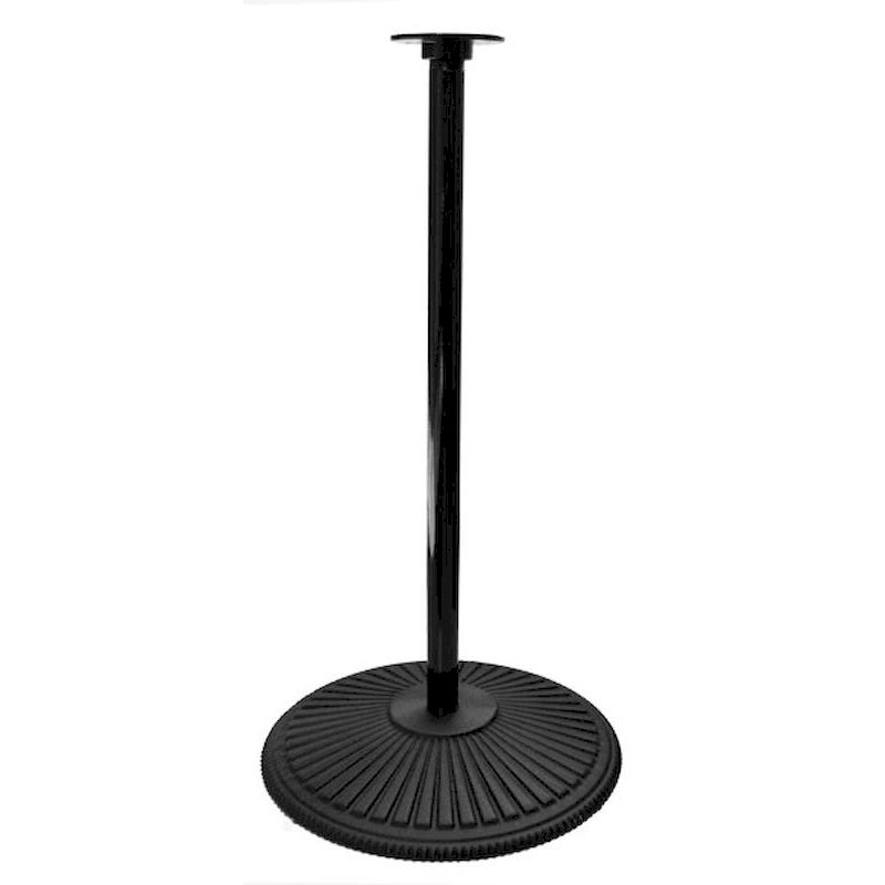SmartVending Cast Iron Retro Pipe Stand - Black