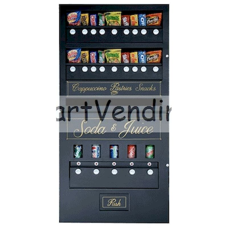 185COM - 18/5 Snack & Soda Combo Vendor - Mechanical Coin Operation