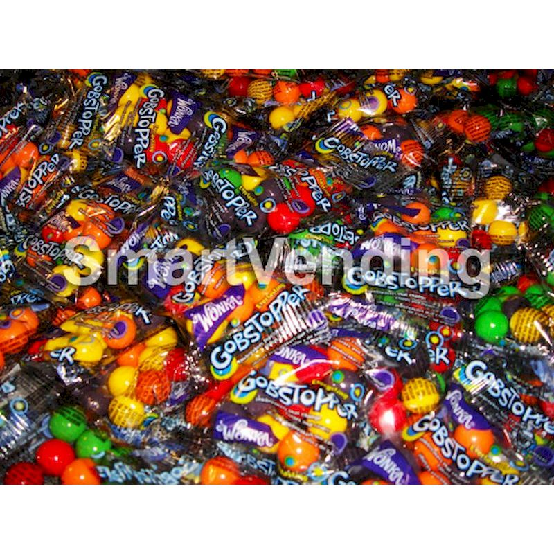 21-21142-5 - Wonka Everlasting Gobstoppers Bulk Pkg Mix (5 lbs Bag) FREE SHIPPING