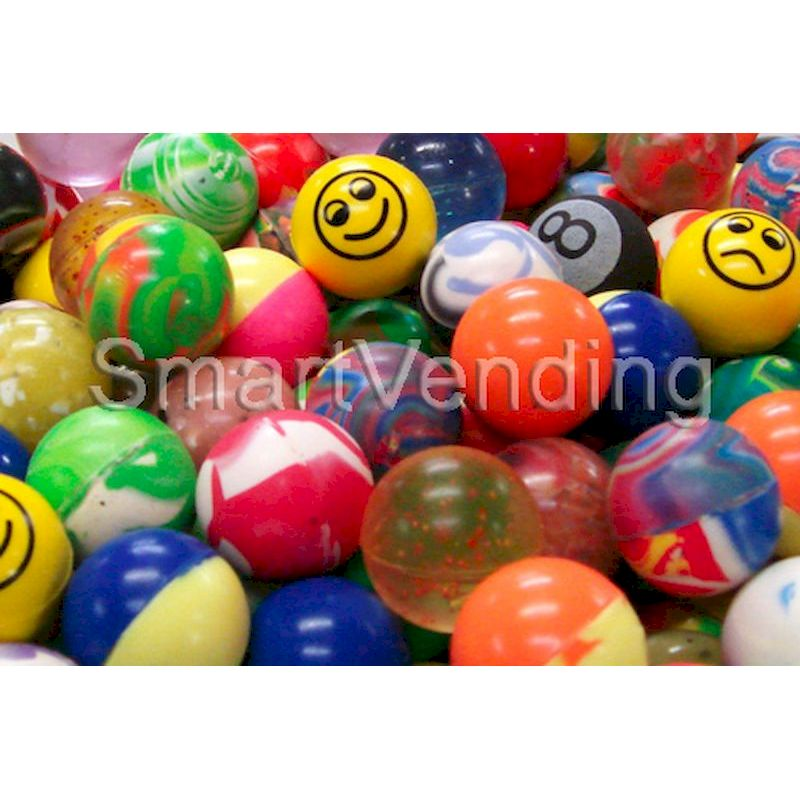 "27MM - 27mm (1.06"") Mixed Bouncy Balls (250 ct.)"