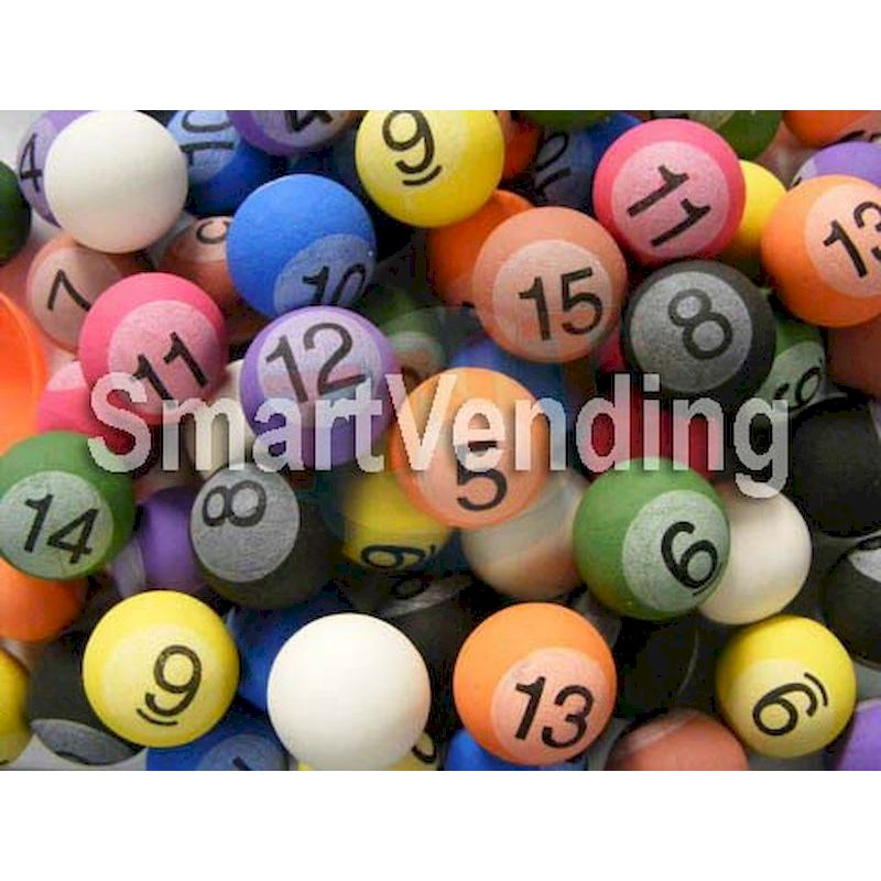 27POB - 27mm Pool Balls Super Bouncy Balls (250 ct.)