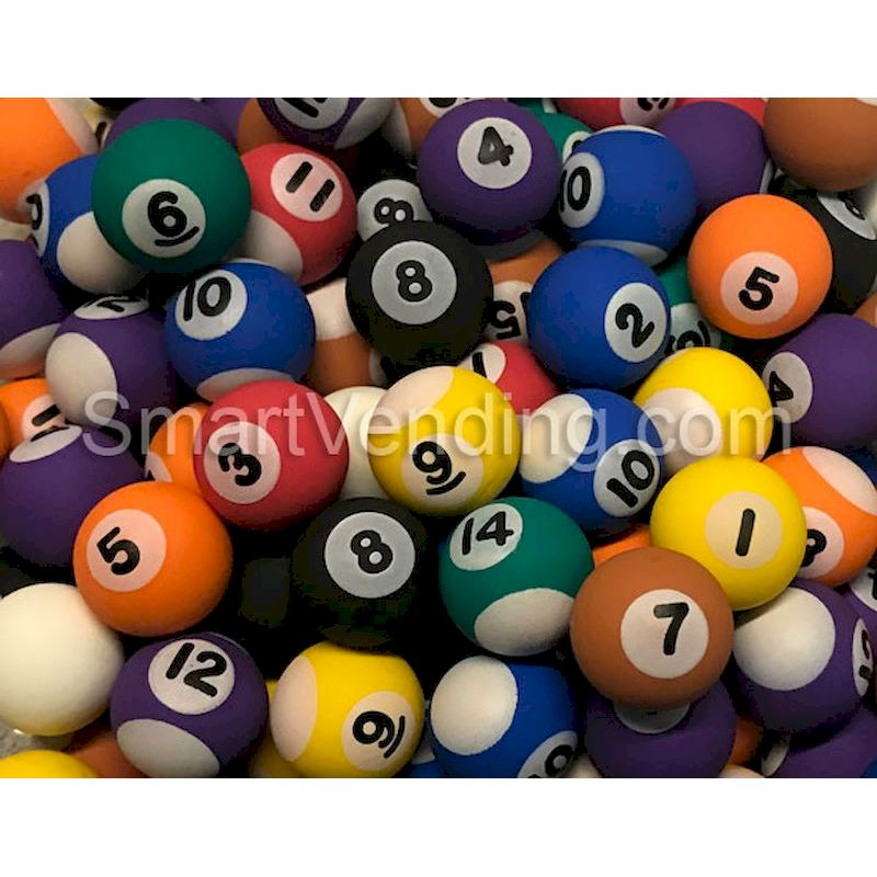 "27POB - 27mm (1.06"") Pool Balls Super Bouncy Balls (250 ct.)"