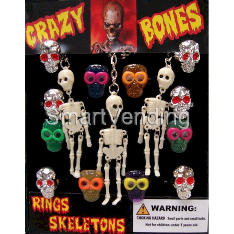 31-CRZBNC1 - Live Display for Crazy Bones Rings & Skeletons