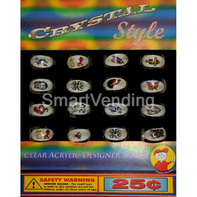 31-CSARC1 - Live Display for Crystal Style Acrylic Rings