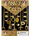 Fools Gold Jewelry Mix in 1.1 inch Capsules (250 ct.)