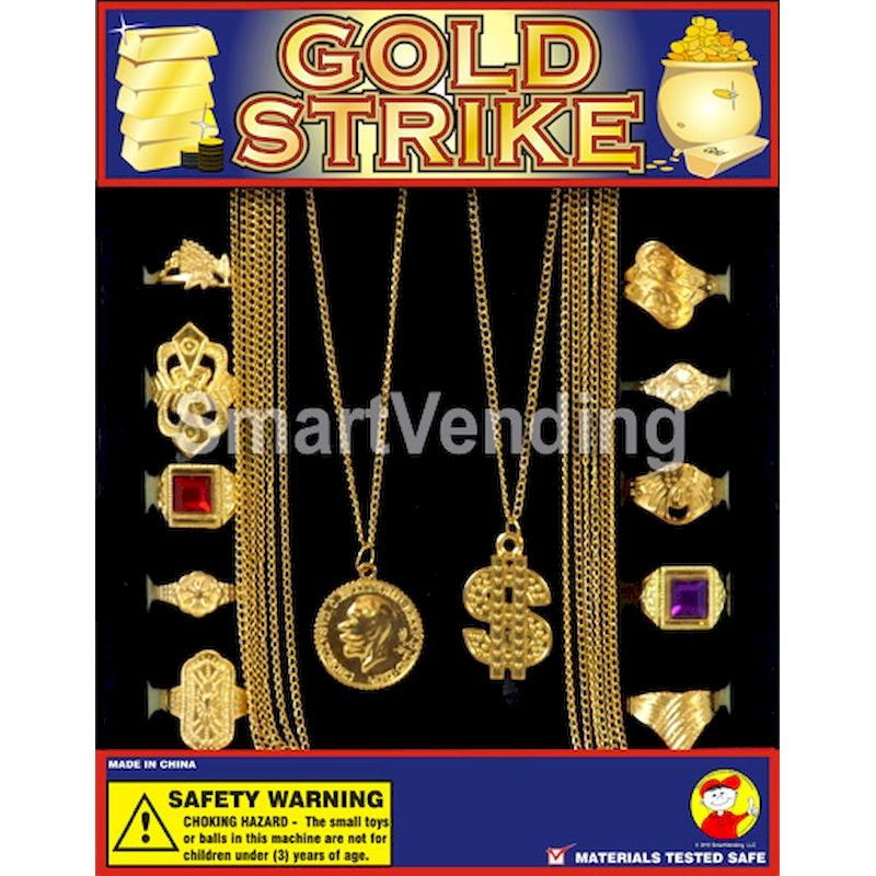 "30-GOSKC1 - Gold Strike Jewelry in 1.1"" Capsules (250 ct.)"