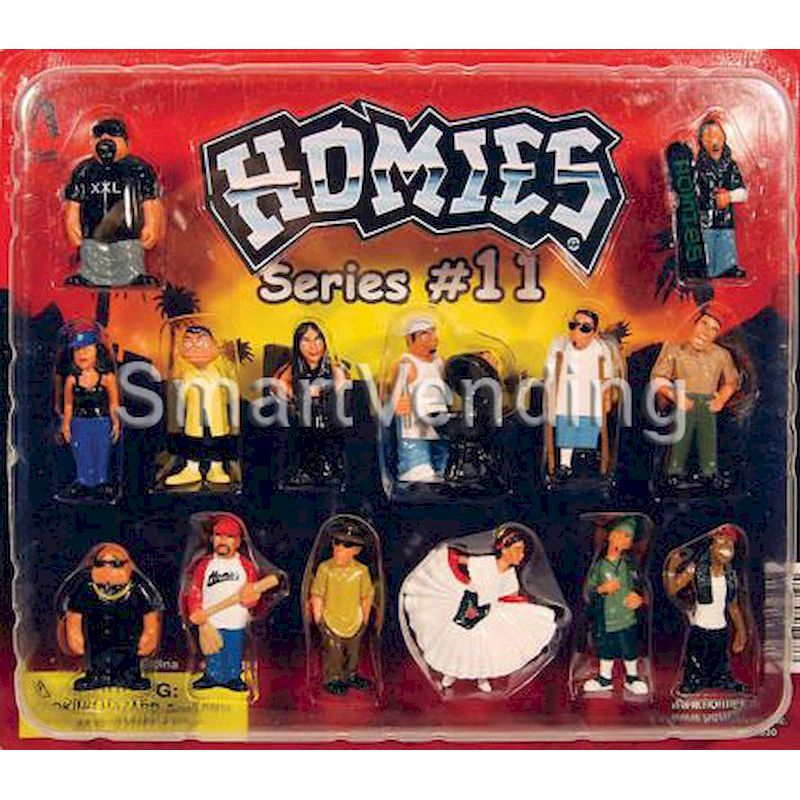 31-HOFIHD2-11 - Live Display for Homies Figures Series #11 Straight Mix (Standard Horizontal)