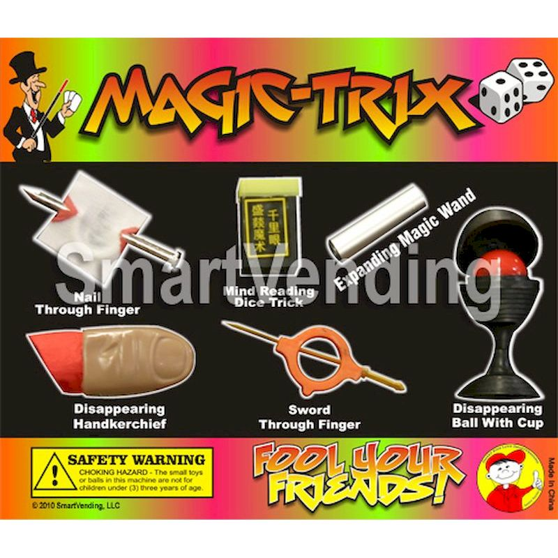 31-MGTRXC2 - Display Card for Magic Trix Premium Mix