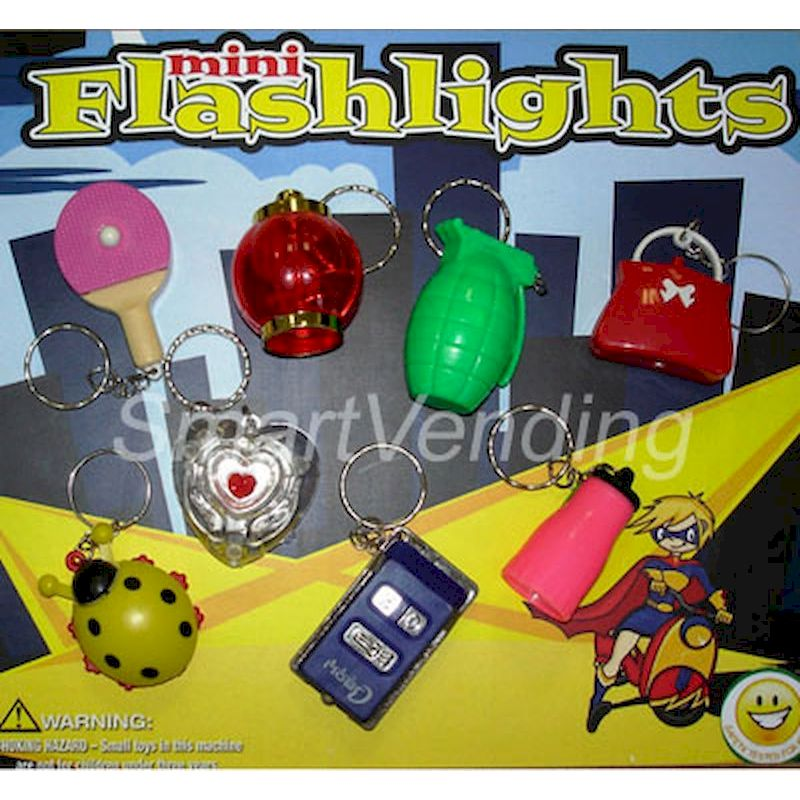31-MIFLKCC2 - Live Display for Mini Flashlight Key Chains 2""