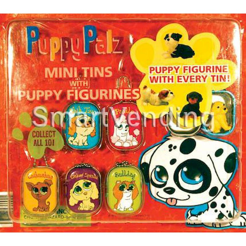 31-PUPATNHDD2 - Live Display for PuppyPalz Tins with Puppies (Standard Display)