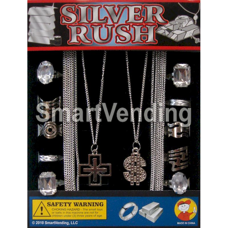 "30-SIRUC1 - Silver Rush Jewelry in 1.1"" Capsules (250 ct.)"