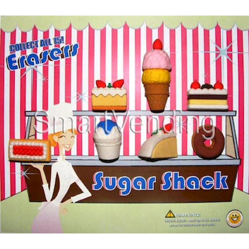 31-SSERC2 - Live Display for Sugar Shack Erasers