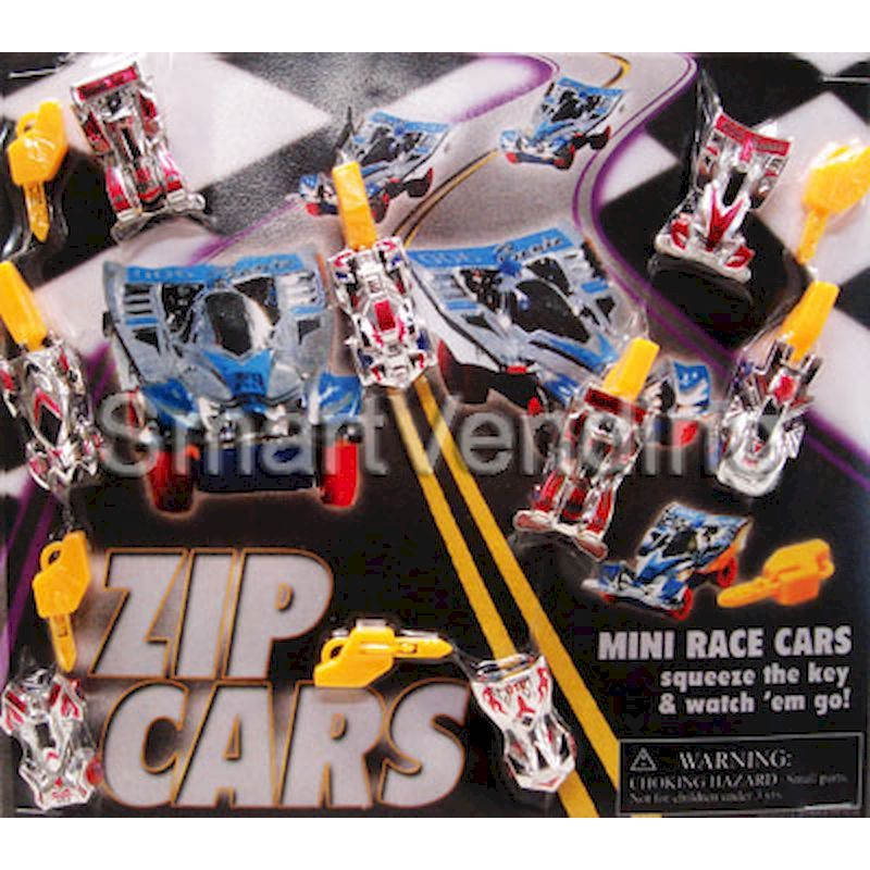30-ZPCRC2 - Zip Pull-Back Cars in 2 inch Capsules (250 ct.)