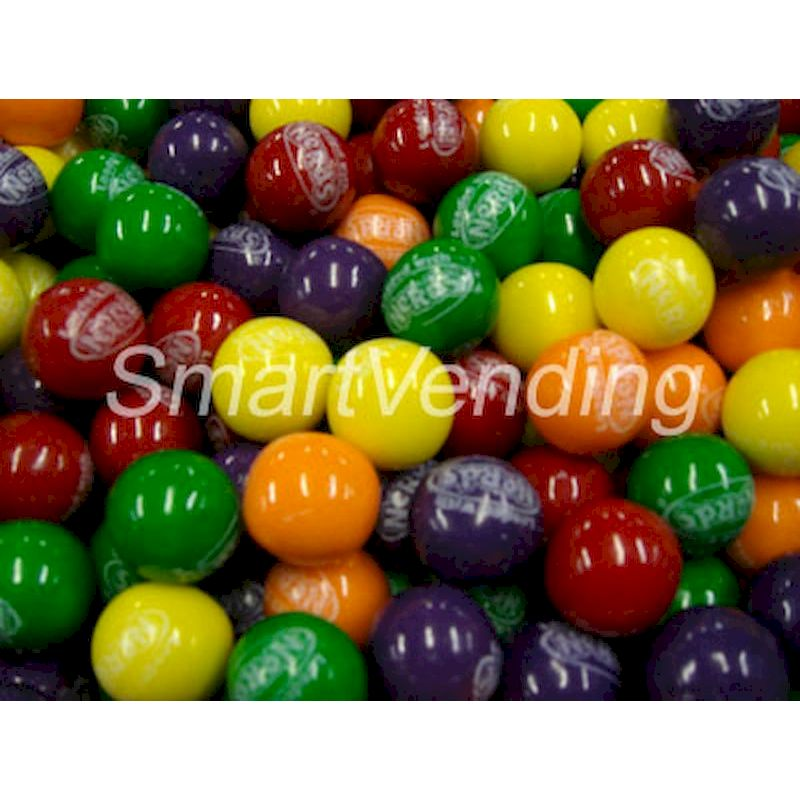 "Nerds Filled 1"" Gumballs (850 ct.) 17.35 lbs. Net Wgt. Bulk"