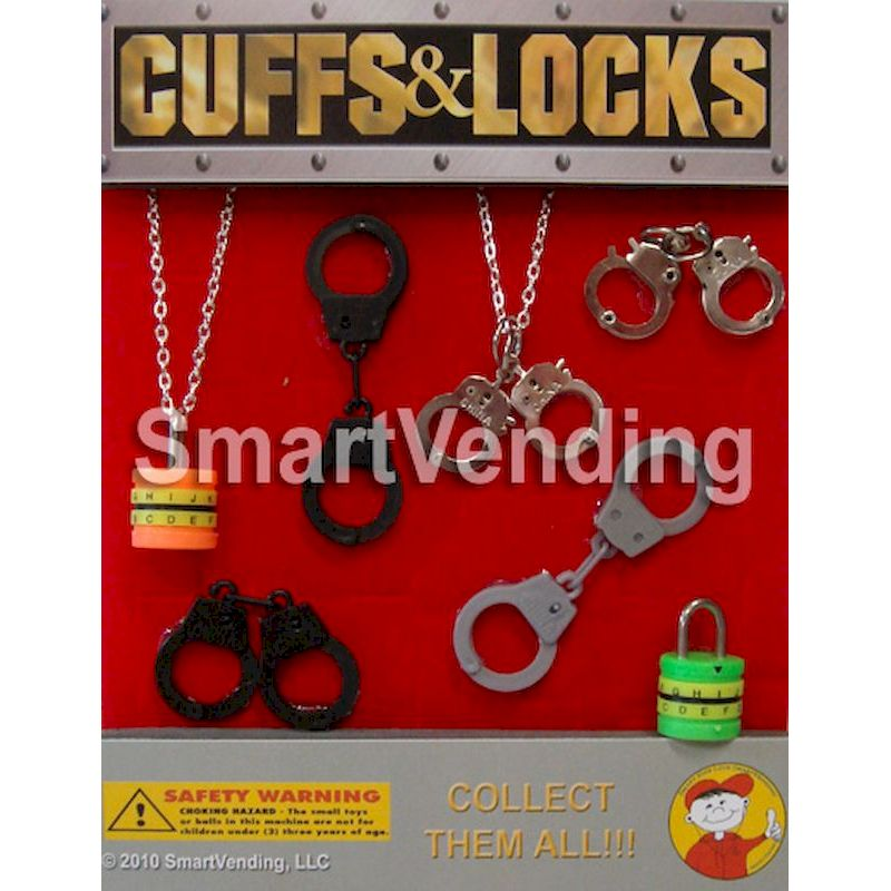 "30-CUSTC1 - Cuffs & Locks in 1.1"" Capsules (250 ct.)"