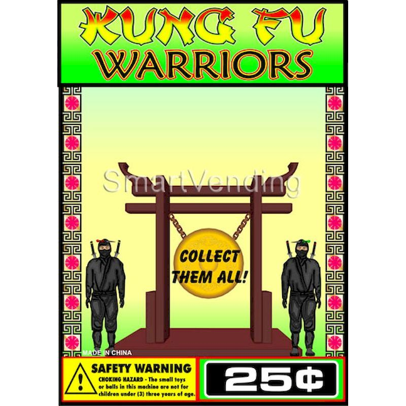 31-KFNICD1 - Printed Display Card for Kung Fu Ninja Figures