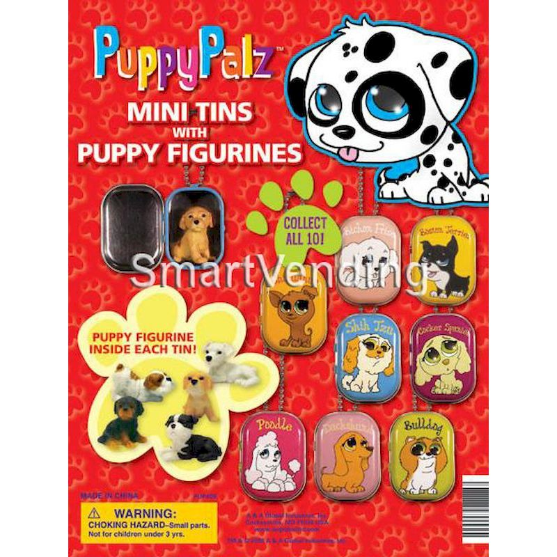 31-PUPATNVD2 - Tomy Display for PuppyPalz Tins with Puppies