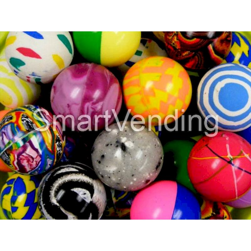49mm - 49mm Economy Mixed Bouncy Balls (50 ct.)