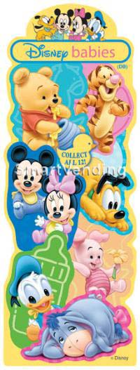 40-DBBST-D1 - Display Card for Disney Babies Stickers