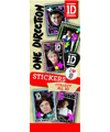 40-ODST - One Direction Licensed Stickers in folders (300 ct.) w/ Free Display Card