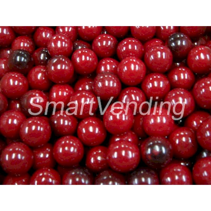 "4260 - Black Cherry 1"" Gumballs (850 ct.) 14.17 lbs. Net Wgt"