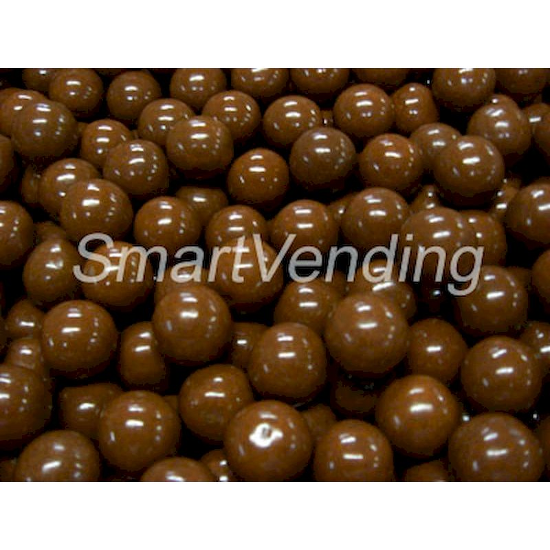 "5408 - Root Beer Flavored Brown 1"" Gumballs (850 ct.) 14.17 lbs. Net Wgt"