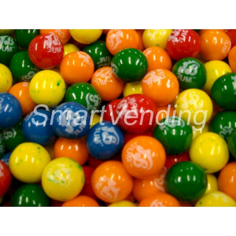 "4790 - Jelly Belly (JB) Gumballs 1"" (850 ct.) 14.17 lbs. Net Wgt"