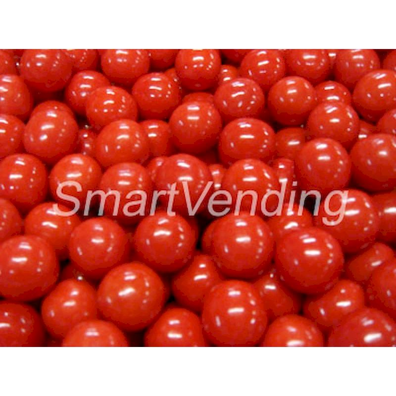 "4808 - Ball of Fire .925"" Red Gumballs (1,080 ct.) 14.4 lbs. Net Wgt. Bulk"