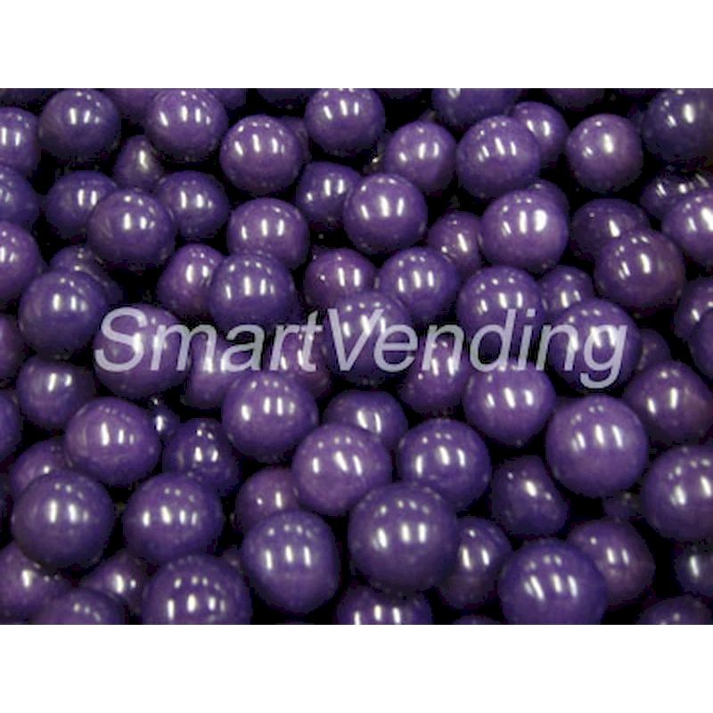 "Grape Flavored 1"" Gumballs (850 ct.) 14.17 lbs. Net Wgt"