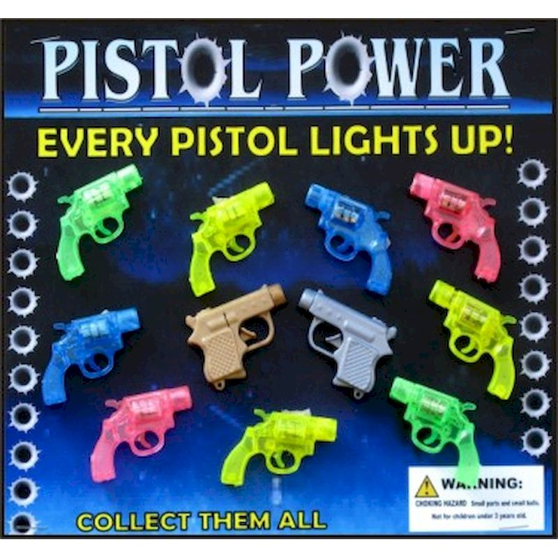 30-PSPWC2 - Pistol Power Light Up in 2 inch Capsules (250 ct)