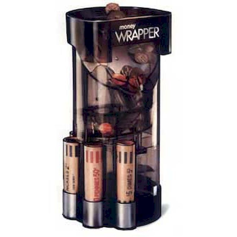 61-4604 - Money Wrapper Coin Counter Sorter