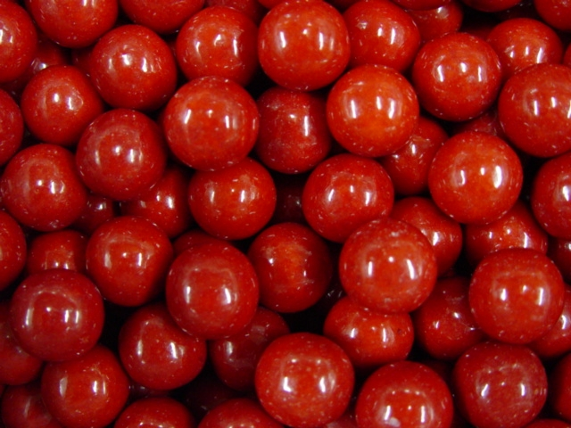 6608 - Very Cherry Filled Gumballs (850 Ct.) 17.7 lbs. Net Wgt