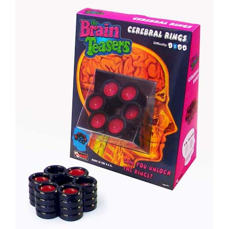 72-2345 - Cerebral Rings Puzzle