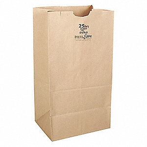 Duro 8# Kraft Grocery Bag (500 ct.)