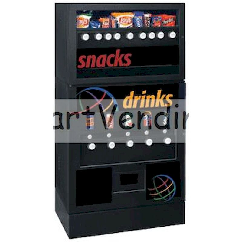 95COM - 9/5 Snack & Soda Combo Vendor - Mechanical Coin Operation