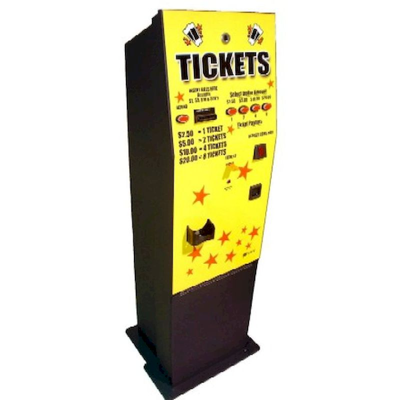 10-AC110 - AC110 Ticket Dispenser Kiosk – Front Load