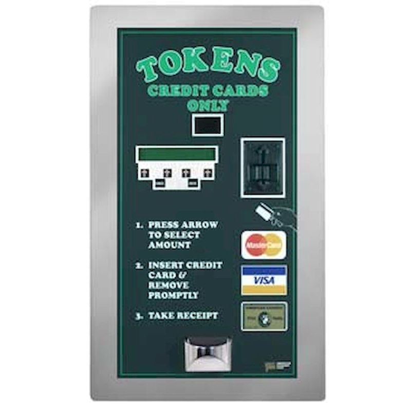 10-AC2007 - AC2007 Credit Card Token Dispenser - Rear Load