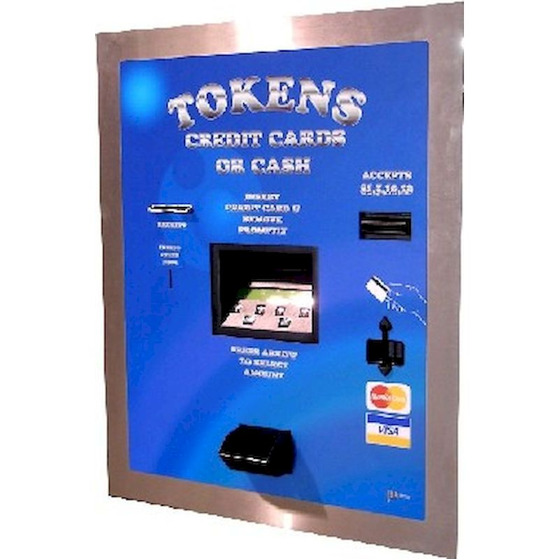 10-AC2207 - AC2207 Cash Coin and Credit Card Token Dispenser