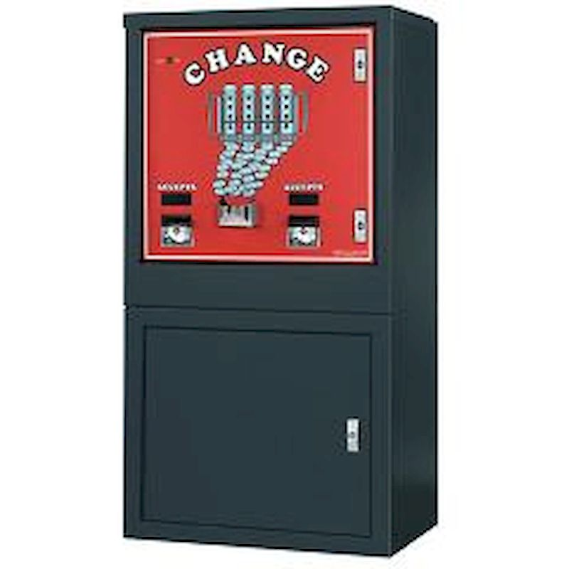 AC6000 - AC6000 Bill Changer - Floor Model / Dual Validator