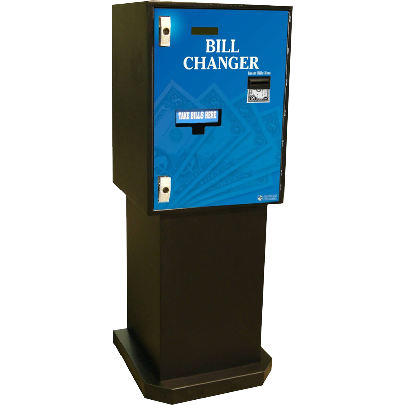 AC7712 American Changer Front Load Bill to Bill Banknote Changer
